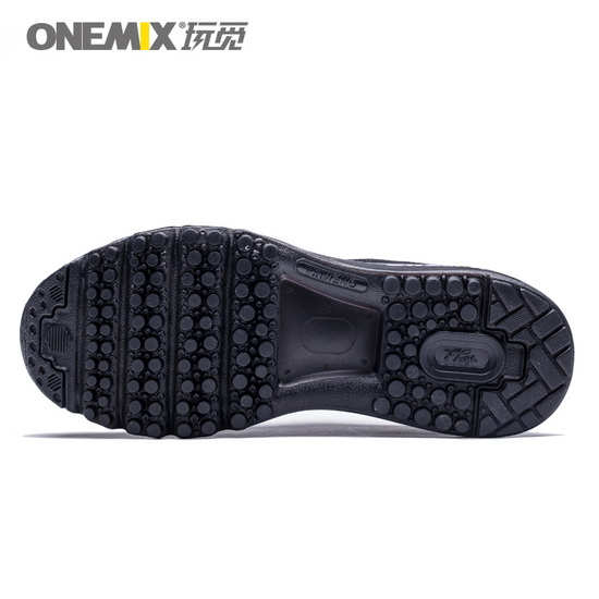 ONEMIX Black Music Equalizer Walking Men's/Women's Sneakers