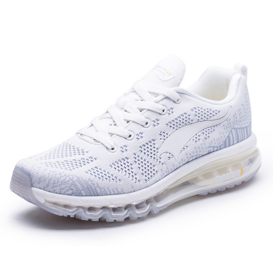 ONEMIX White Music Equalizer Sport Men's/Women's Sneakers
