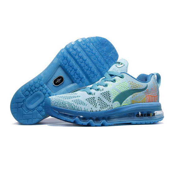 ONEMIX Blue Music Rhythm Mesh Running Women's Shoes