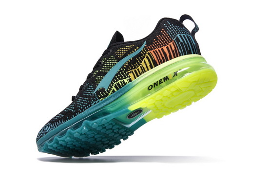 ONEMIX Black/Blue Music Rhythm Outdoor Running Men's Shoes