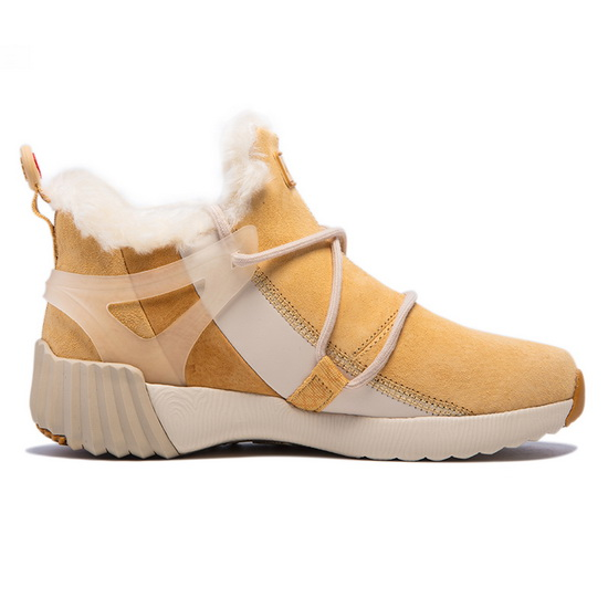ONEMIX Yellow/White Mammoths High-tech Travelling Women's Boots
