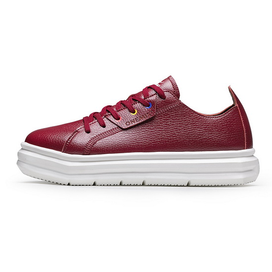 ONEMIX Red Seahawks Comfortable Sport Men's/Women's Shoes