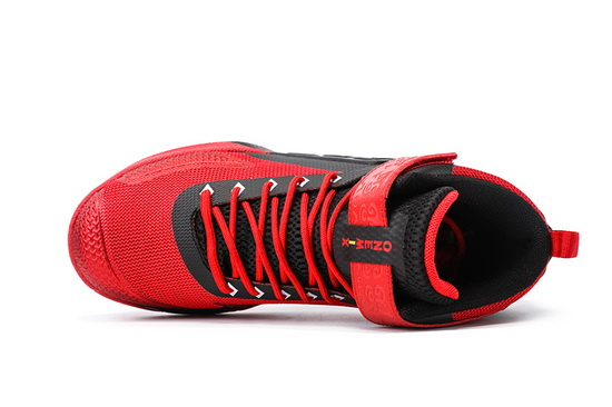ONEMIX Red/Black Braves Athletic Men's Basketball Shoes