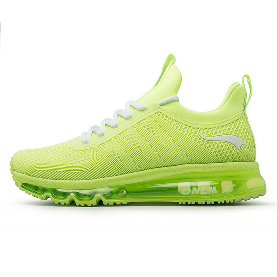 ONEMIX Lime/White Ravens Running Lace Up Women's Shoes
