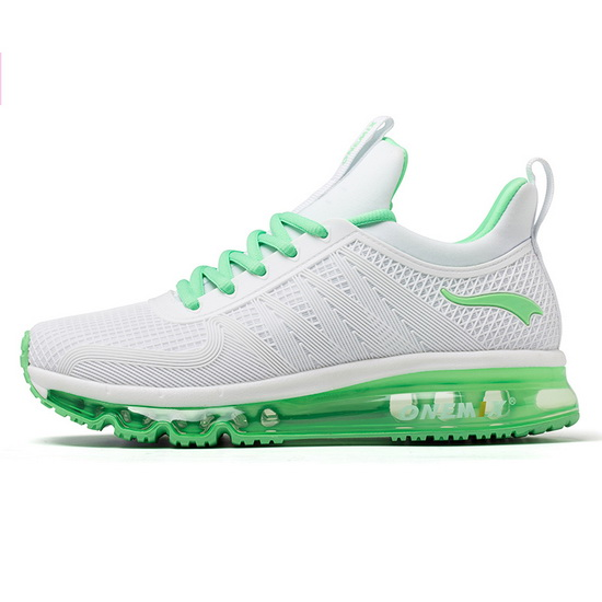 ONEMIX White/Green Ravens Outdoor Travelling Women's Shoes