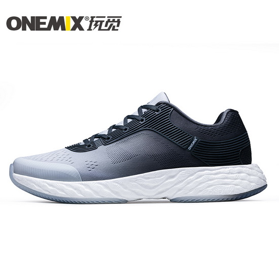 ONEMIX White/Gray Energy 58 Gym Sport Lifestyle Men's Shoes