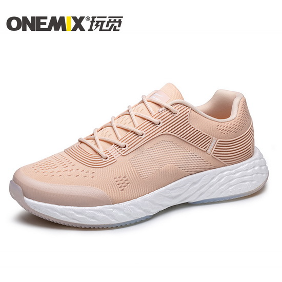 ONEMIX Rose Gold Energy 58 Comfortable Sport Unisex Shoes