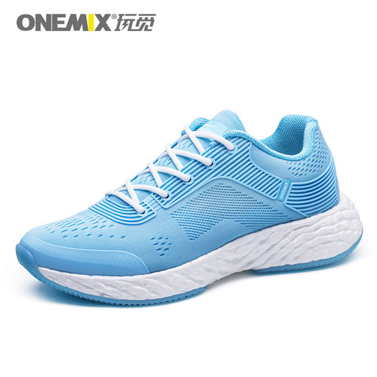 ONEMIX Sky Blue Energy 58 Trekking Cushioning Women's Shoes