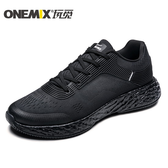 ONEMIX Black/Black Energy 58 Anti-skid Lightweight Unisex Shoes