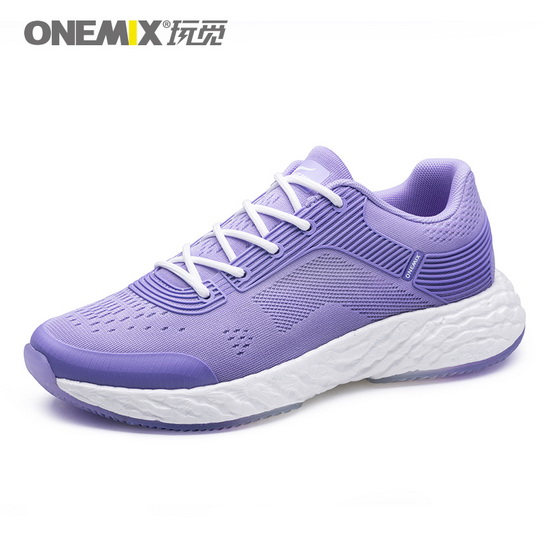 ONEMIX Mauve Energy 58 Lightweight Lace Up Women's Shoes