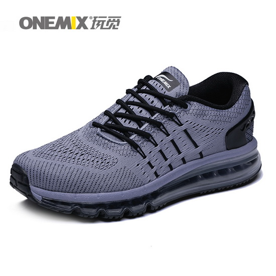 ONEMIX Gray Predators Breathable Fresh Men's Air Cushion Shoes