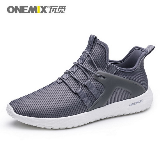 ONEMIX Gyrfalcon Dark Gray Breathable Mesh Men's Shoes