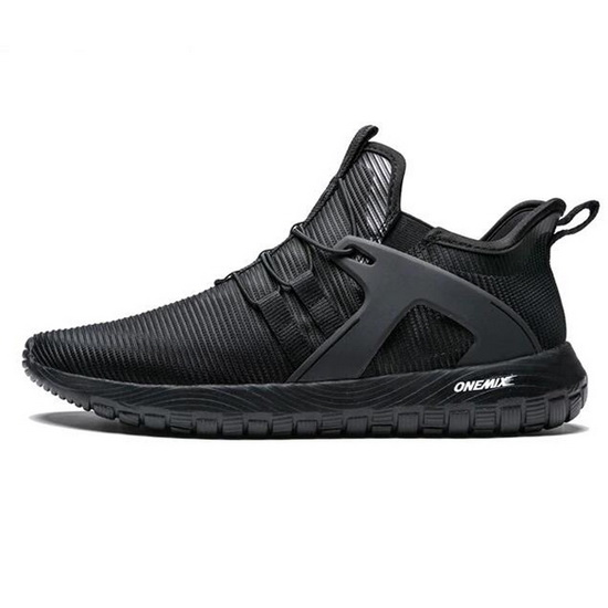 ONEMIX Gyrfalcon Black/Black Comfortable High-tech Men's Shoes
