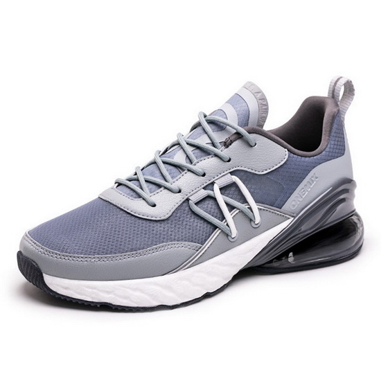ONEMIX Grizzly Blue/Gray Breathable Lightweight Men's Shoes