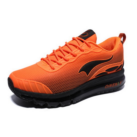 ONEMIX Xenomorph Orange/Black Freak Running Men's Shoes
