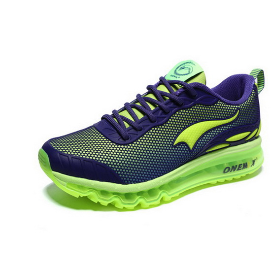 ONEMIX Xenomorph Indigo/Green Athletic Travelling Men's Shoes