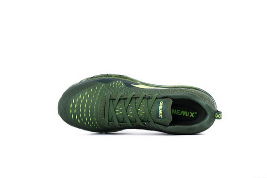 ONEMIX Wave-like Olive Green Unique Style Outdoor Men's Shoes