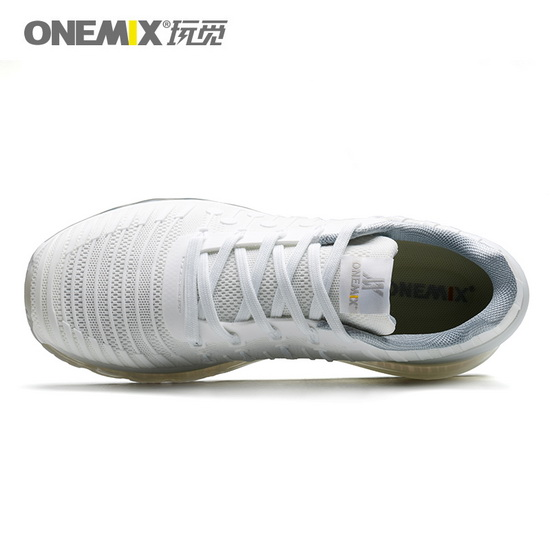 ONEMIX Challenger White Silver Waterproof Running Unisex Shoes