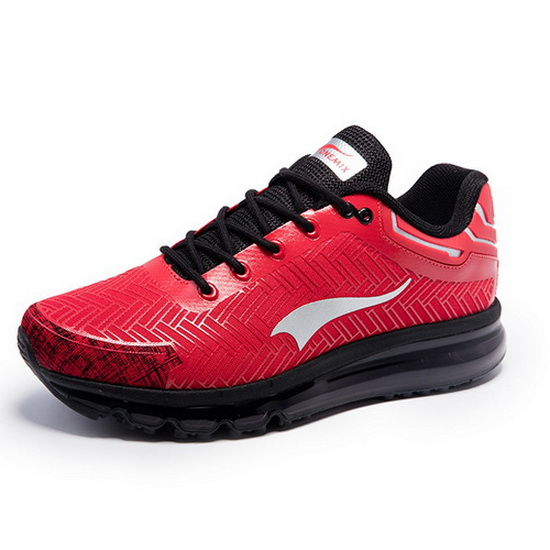 ONEMIX Deerhound Red/Black Athletic Cushioning Men's Shoes