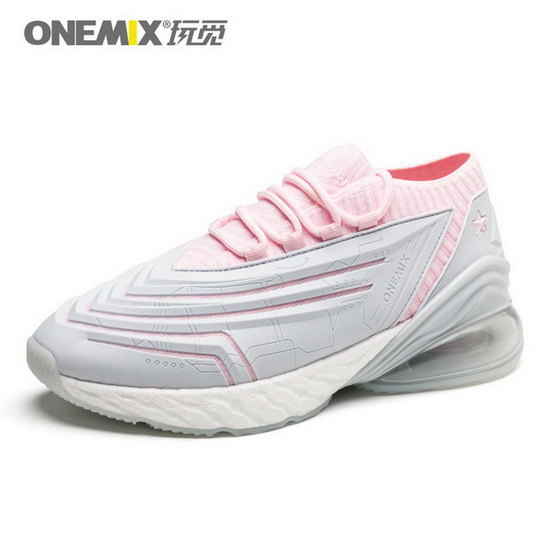 ONEMIX Rapscallion Silver/Pink Waterproof Lifestyle Women's Shoes