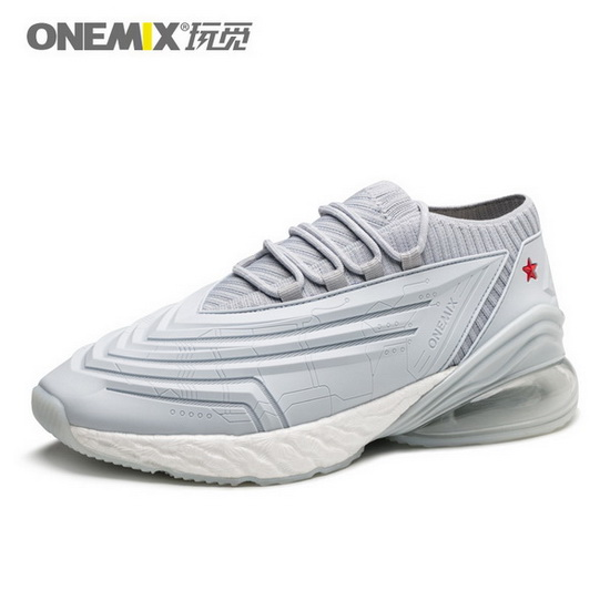 ONEMIX Rapscallion Silver/Gray Gym Sport Anti-skid Men's Shoes