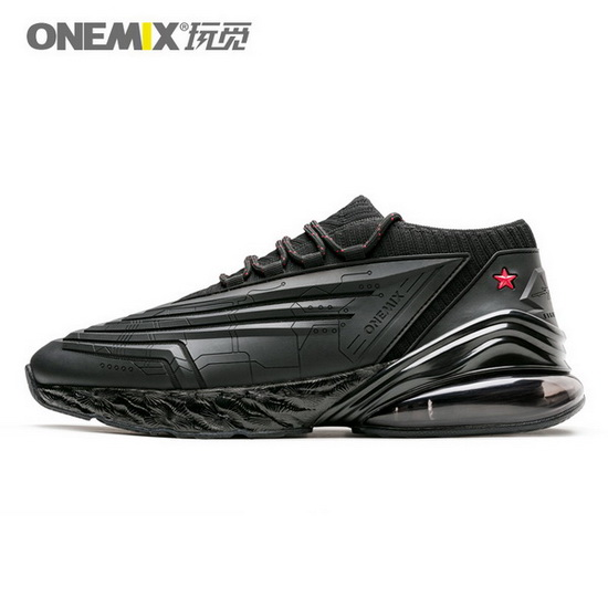 ONEMIX Rapscallion Black/Black Comfortable Sport Men's/Women's Shoes - Click Image to Close