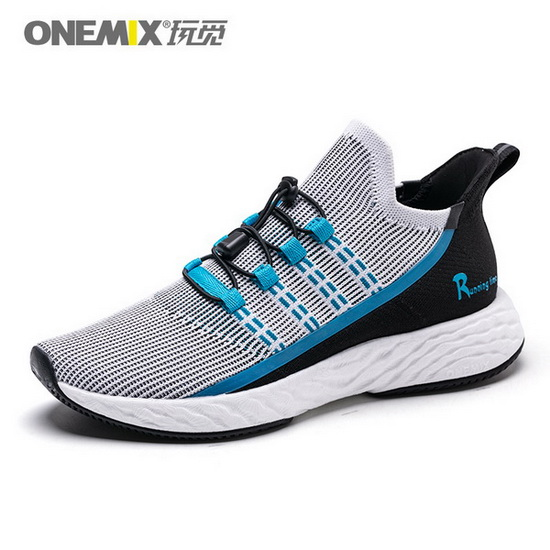 ONEMIX Wreck Raider Black/Blue Lifestyle Lightweight Men's Shoes