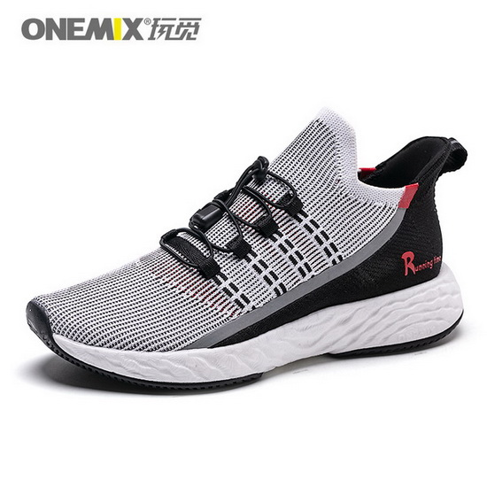 ONEMIX Wreck Raider Black/Red Sport Mesh Women's/Men's Shoes