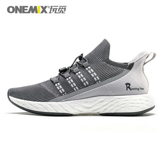 ONEMIX Wreck Raider Dark/Gray Breathable Outdoor Men's Shoes