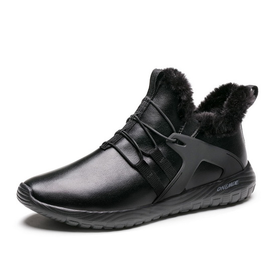 ONEMIX Ultralisk Black Comfortable Lightweight Men's Shoes