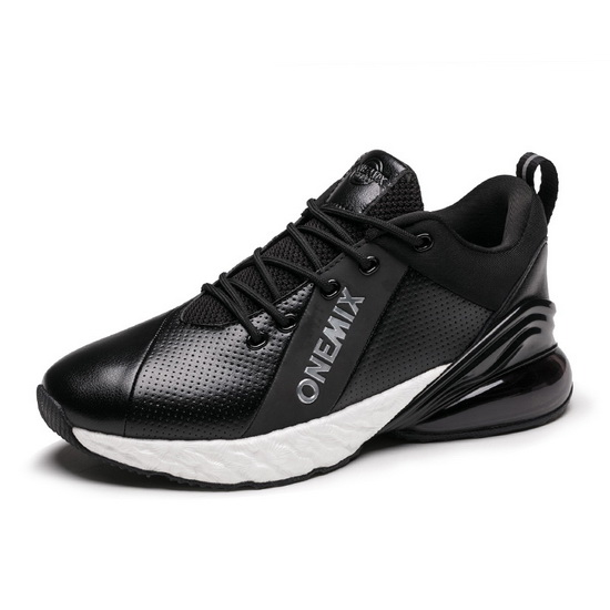 ONEMIX Dragoon Black/White Lifestyle Cushioning Men's Shoes