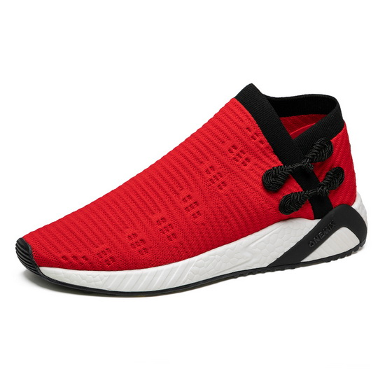 ONEMIX Observer Red/Black Breathable Men's/Women's Shoes