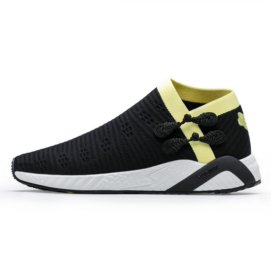 ONEMIX Observer Black/Yellow Lifestyle Running Women's/Men's Shoes