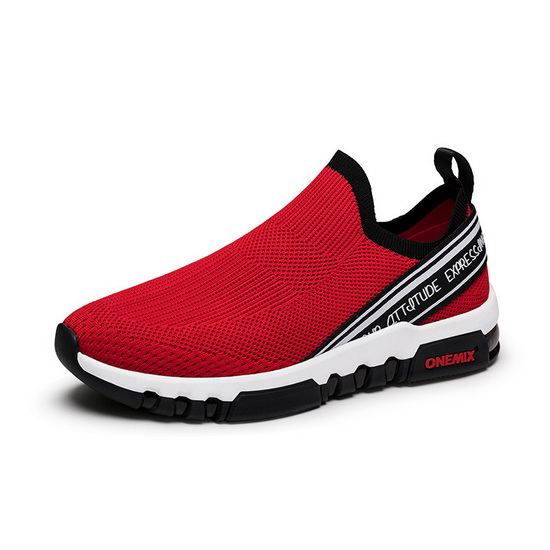 ONEMIX Void Ray Red Lifestyle Athletic Men's Shoes