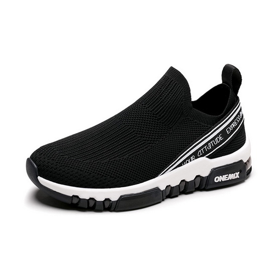 ONEMIX Void Ray Black Sport Mesh Men's/Women's Shoes