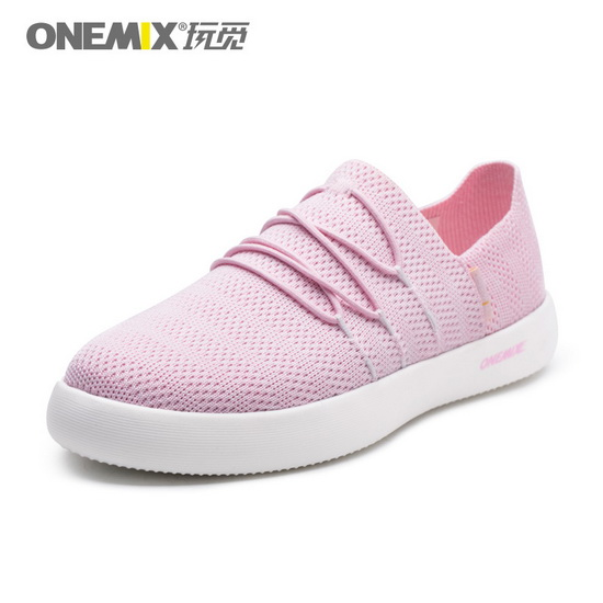 ONEMIX Marauders Pink Breathable Comfortable Women's Shoes