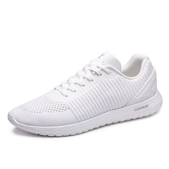 ONEMIX Medivacs White Comfortable Lucky Men's/Women's Shoes