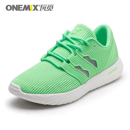 ONEMIX Baneling Green Breathable Travelling Women's Shoes
