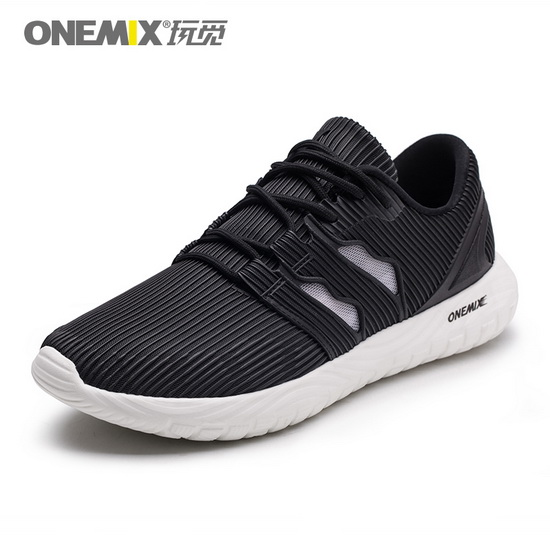 ONEMIX Baneling Black Trekking Walking Men's/Women's Shoes