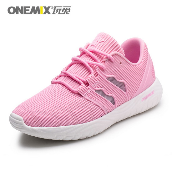 ONEMIX Baneling Pink Athletic Lightweight Women's Shoes