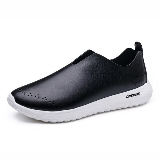 ONEMIX Hydralisk Black Athletic Unique Style Men's Shoes