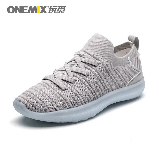 ONEMIX Mutalisk Gray Breathable Lucky Men's Shoes