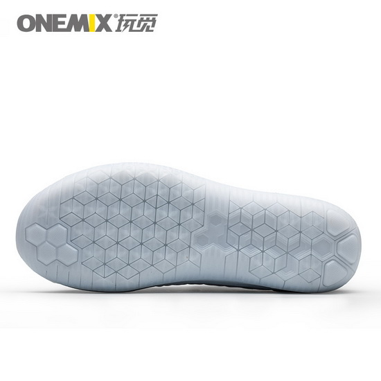 ONEMIX Mutalisk White/Black College Style Fresh Men's Shoes