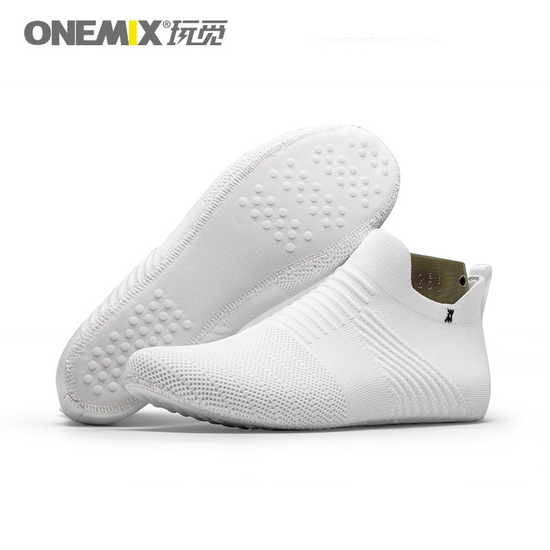 ONEMIX Lynx White Lightweight Women's/Men's Inner Socks-slipper