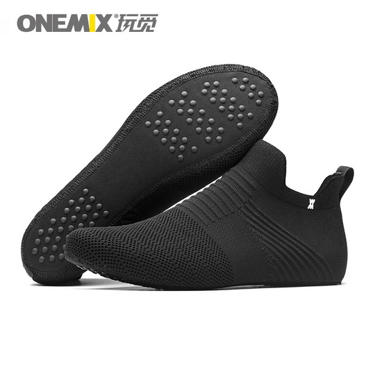 ONEMIX Lynx Black Breathable Men's/Women's Inner Socks-slipper