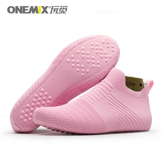 ONEMIX Lynx Pink Comfortable Anti-skid Women's Inner Socks-slipper