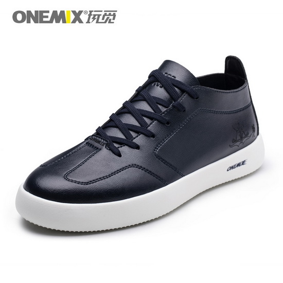 ONEMIX Stalker Dark Blue Student Style Trekking Men's Shoes