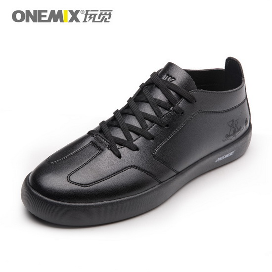 ONEMIX Stalker Black College Style Waterproof Men's Shoes