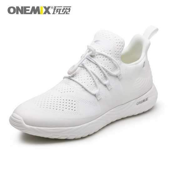ONEMIX Archon White Anti-skid Travelling Women's/Men's Shoes