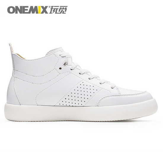 ONEMIX Corruptor White Lifestyle Breathable Unisex High Top Shoes
